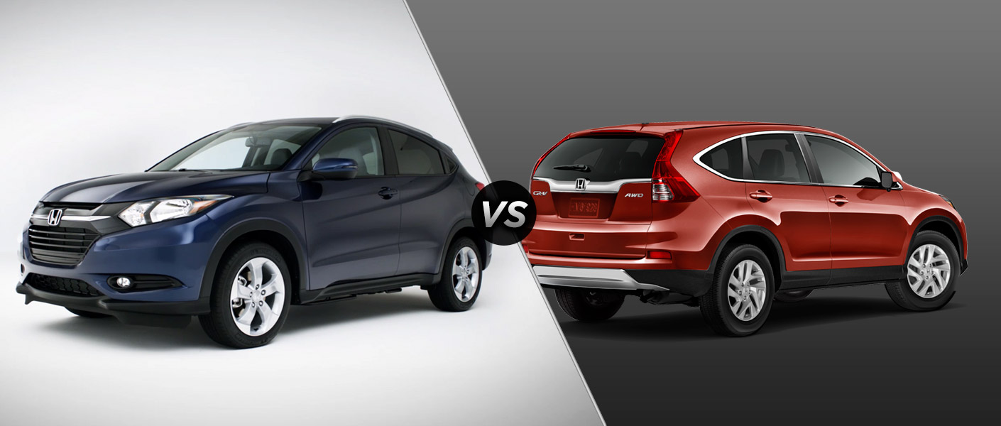 2016 Honda HR-V vs. Honda CR-V