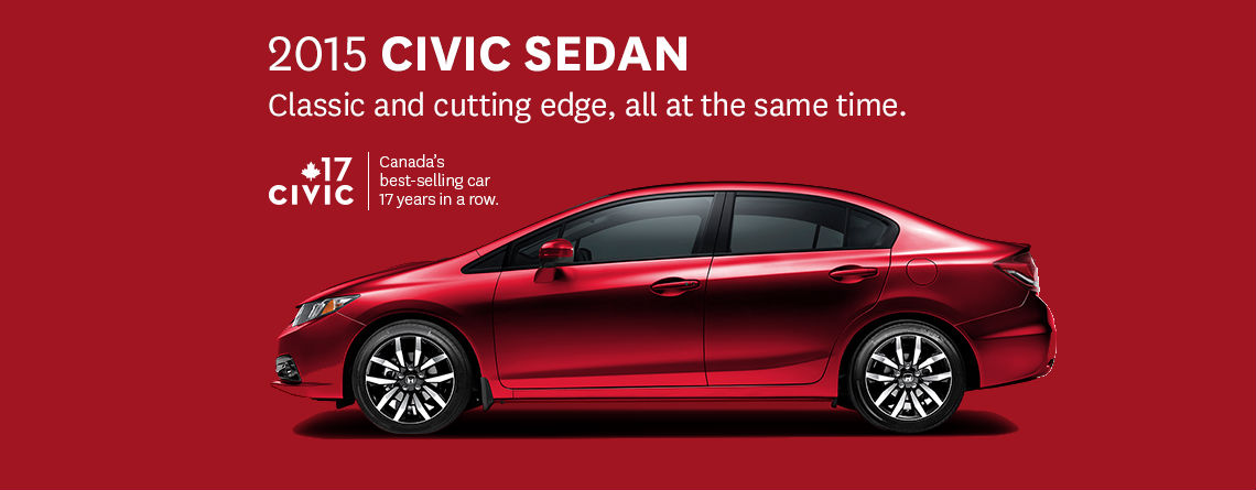 Honda Civic Best Selling Car in Canada