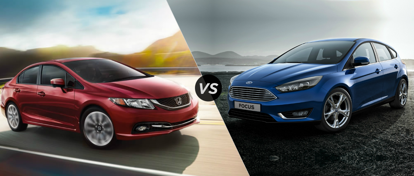 Honda Civic vs. Ford Focus