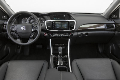 2016 Honda Accord Interior steering wheel features