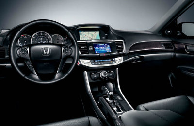 2016 Honda Accord interior technology and features
