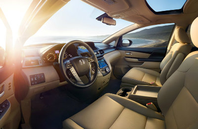 2016 Honda Odyssey interior features
