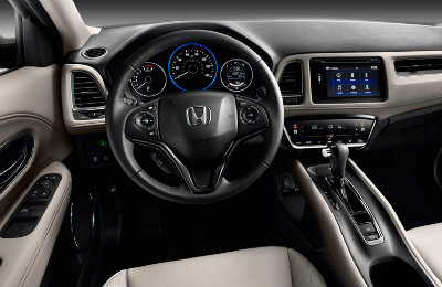 2016 Honda HR-V interior features and technology