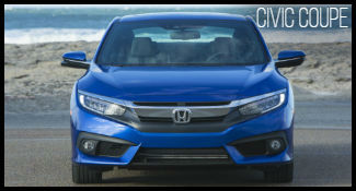 Honda Civic Coupe Model Research
