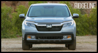 Honda Ridgeline Model Research