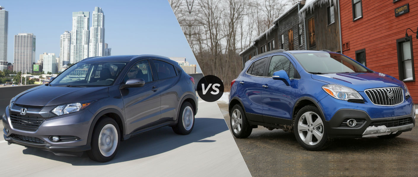 2016 honda hr v vs 2016 buick encore for Buick encore vs honda hrv