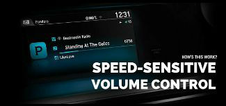 How's This Work? Speed-Sensitive Volume Control