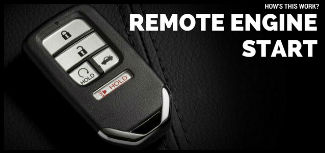 How's This Work? Remote Engine Start