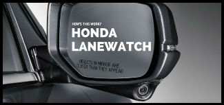 How's This Work? Honda LaneWatch