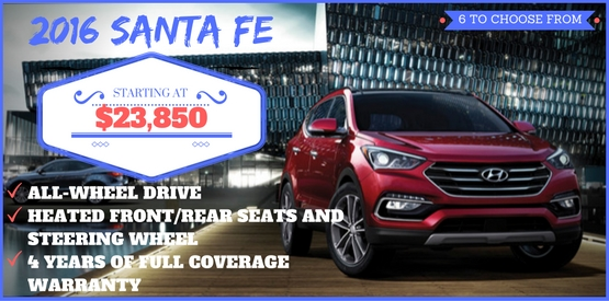 Hyundai August Incentive Offer
