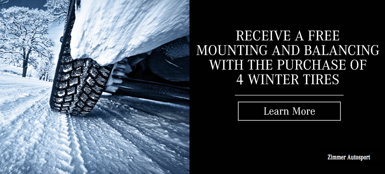 Winter Tire Special at Zimmer Autosport Mercedes Benz in Kamloops, BC